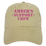 Amber Support Crew Baseball Cap