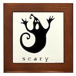 scary! Framed Tile