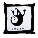 scary! Throw Pillow