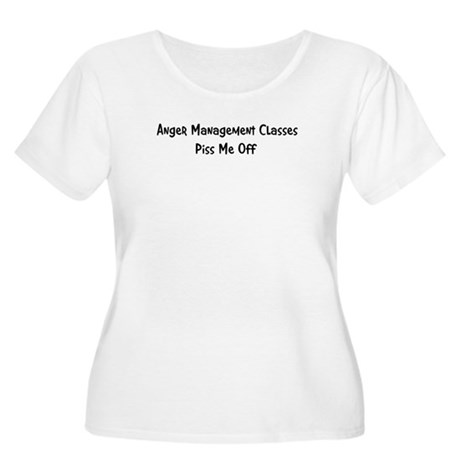 Anger Management Classes Piss Women's Plus Size Sc