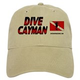 Dive Cayman (red) Baseball Cap #1