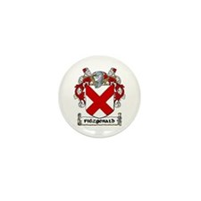 Fitzgerald Coat of Arms Mini Button (10 pack)