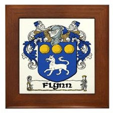 Flynn Coat of Arms Framed Tile