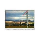 Rainstorms over Napa Valley Vineyard Magnet
