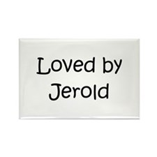 Cute Jerold Rectangle Magnet