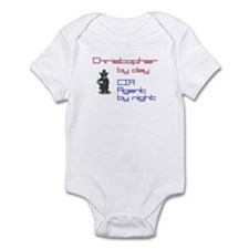 Christopher - CIA Agent by Ni Infant Bodysuit