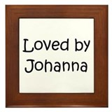 Unique Johanna Framed Tile