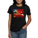 Harmony in Red Women's Dark T-Shirt