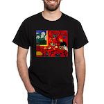 Harmony in Red Dark T-Shirt