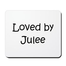 Unique Jules name Mousepad