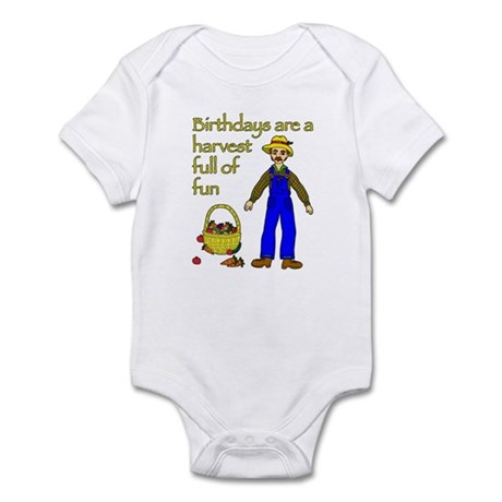 Farmer Birthday Infant Bodysuit
