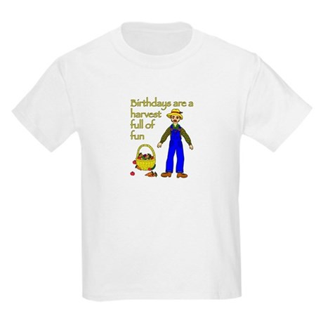 Farmer Birthday Kids Light T-Shirt