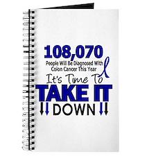 Take Down Colon Cancer 4 Journal