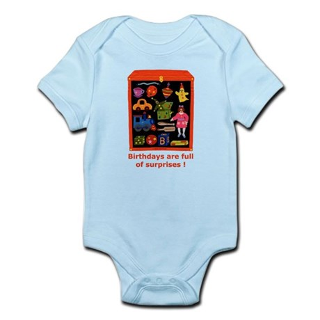 Toys Birthday Infant Bodysuit