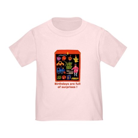 Toys Birthday Toddler T-Shirt