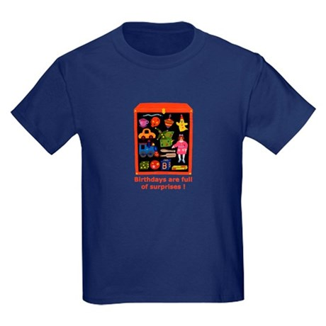 Toys Birthday Kids Dark T-Shirt