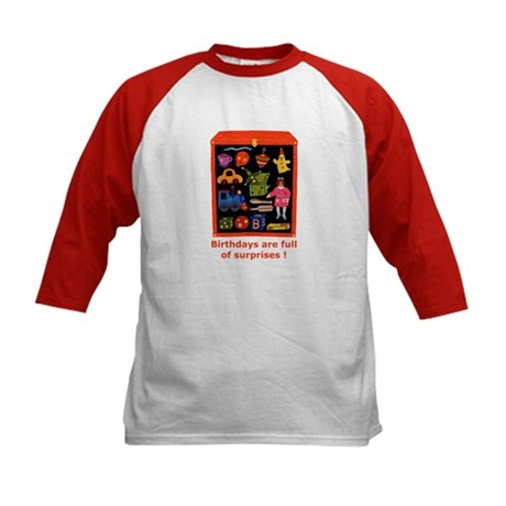 Toys Birthday Kids Baseball Jersey