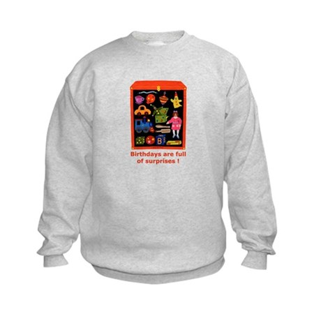 Toys Birthday Kids Sweatshirt