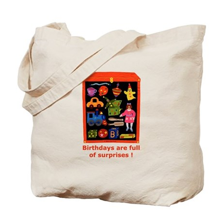Toys Birthday Tote Bag