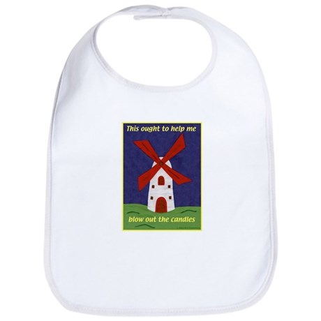 Windmill Birthday Bib