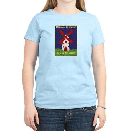 Windmill Birthday Women's Light T-Shirt