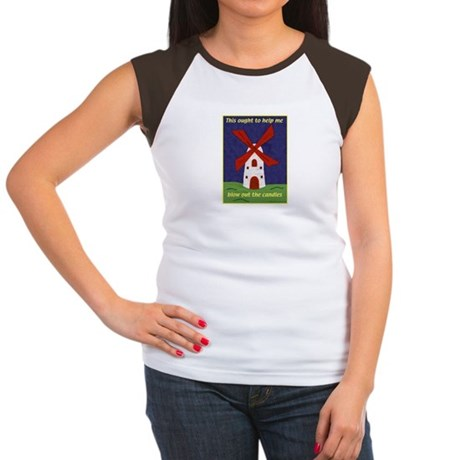 Windmill Birthday Women's Cap Sleeve T-Shirt