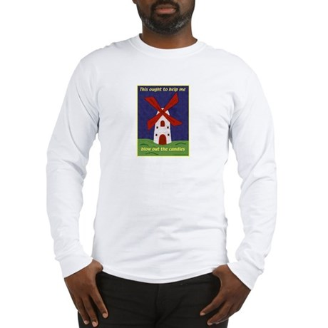 Windmill Birthday Long Sleeve T-Shirt