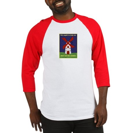 Windmill Birthday Baseball Jersey