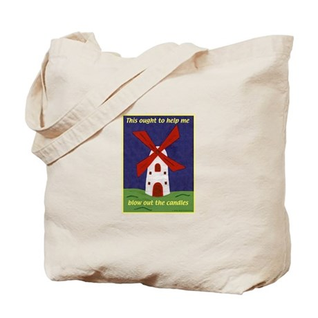 Windmill Birthday Tote Bag