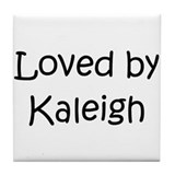 Cute Kaleigh Tile Coaster