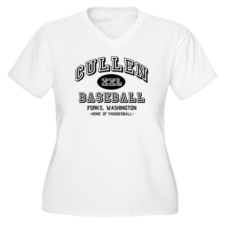 Cullen Baseball Women's Plus Size V-Neck T-Shirt