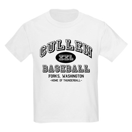 Cullen Baseball Kids Light T-Shirt