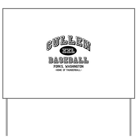 Cullen Baseball Yard Sign