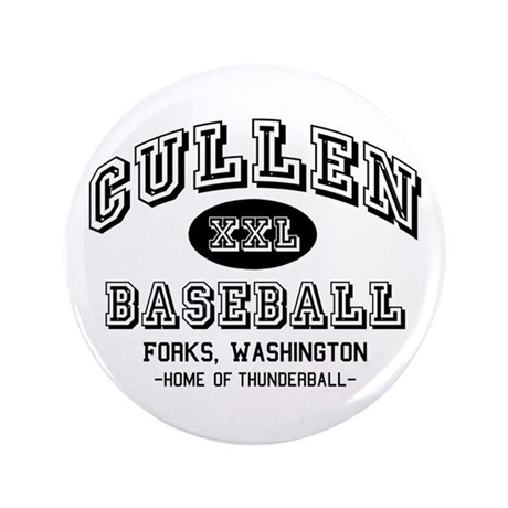 "Cullen Baseball 3.5"" Button"