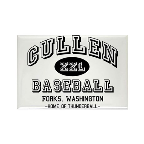 Cullen Baseball Rectangle Magnet (10 pack)