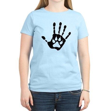 Human/Werewolf Print Women's Light T-Shirt