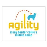 Border Collie Small Poster