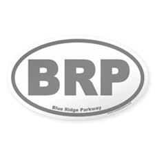 Blue Ridge Parkway BRP Oval Bumper Stickers