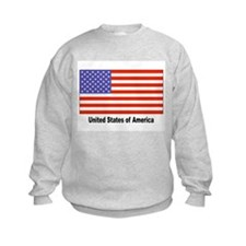 United States Flag Sweatshirt