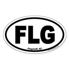 Flagstaff, Arizona FLG Oval Decal