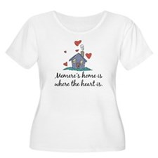 Memere's Home is Where the Heart Is T-Shirt