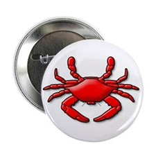 """""""Red Crab"""" 2.25"""" Button (100 pack)"""