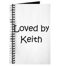Cute Keith Journal