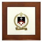 RIVARD Family Crest Framed Tile
