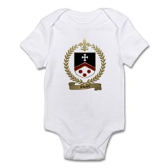 RIVARD Family Crest Infant Creeper
