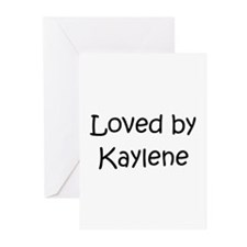 Unique Kaylen Greeting Cards (Pk of 10)