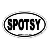SPOTSY Euro Oval Decal