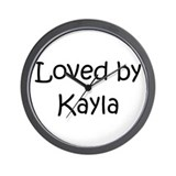 Unique Kayla Wall Clock