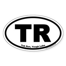 Tub Run, Yough Lake Oval Decal