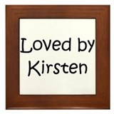 Cute Kirsten Framed Tile